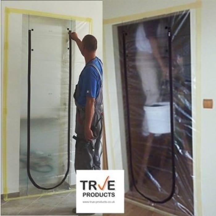 True Products Dust Stop Zip Door Kit B5017B