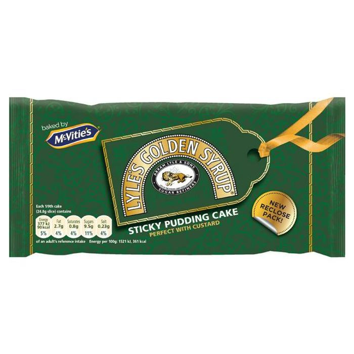 McVitie's Lyle's Golden Syrup Cake 225g (Serves 9)