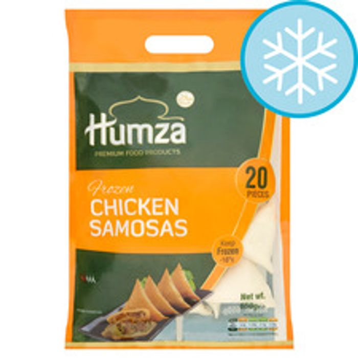 Humza Chicken Samosa 20 Pieces 650G