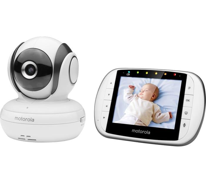 "*SAVE £45* MOTOROLA 3.5"" Video Baby Monitor"