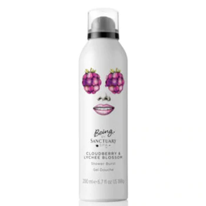Being by Sanctuary Cloudberry & Lychee Shower Foam 200ml