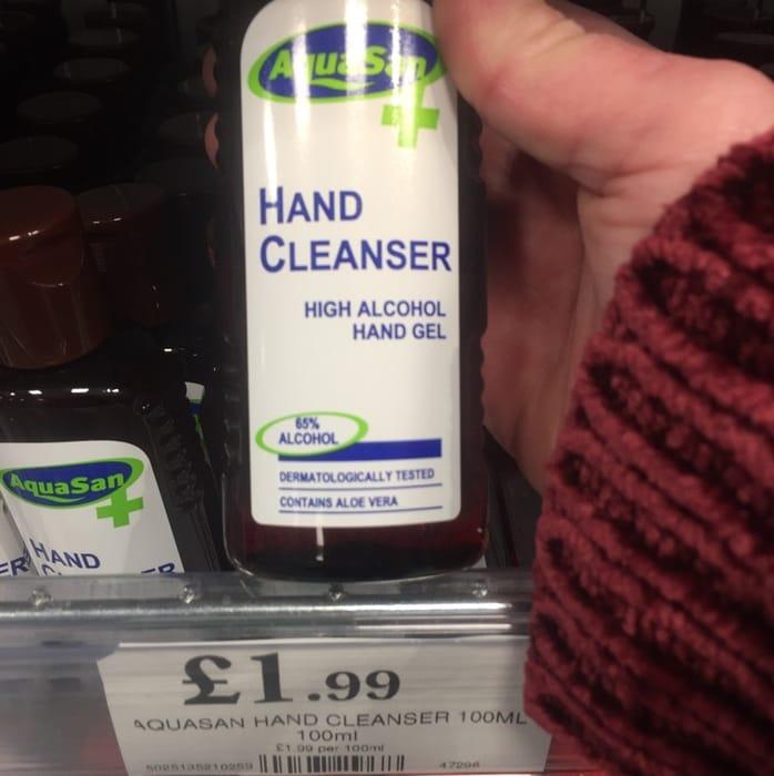 More Hand Sanitiser