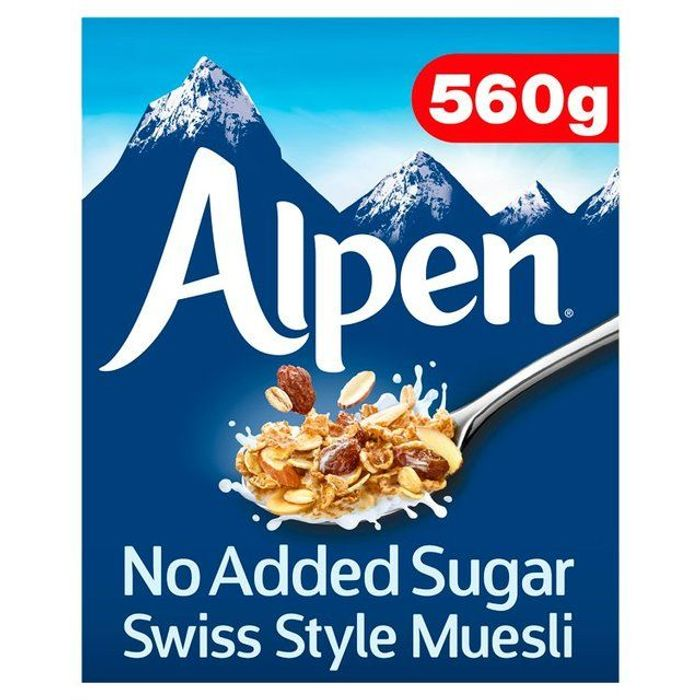 Alpen No Added Sugar Museli- 560g