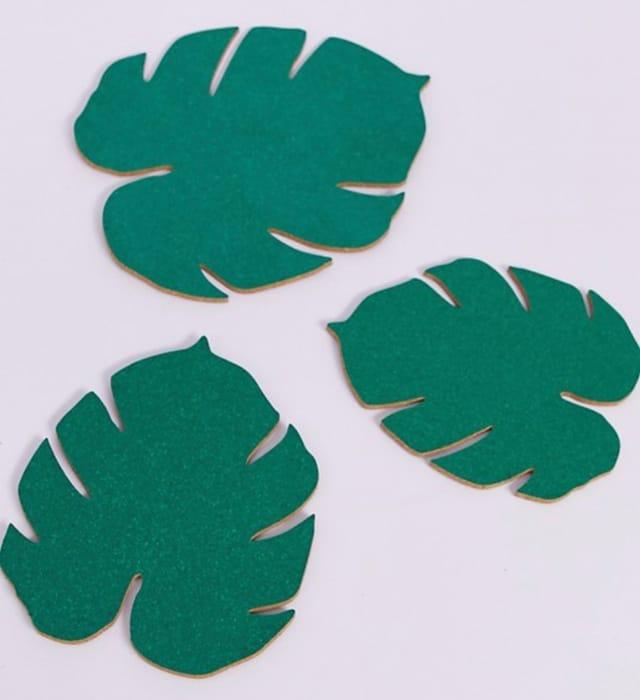 Quirky Leaf Corkboards, Half Price!