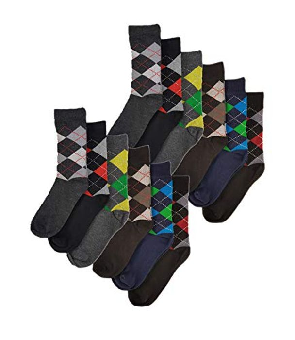 CHEAP! Sock Stack 12 Pairs of Men's Designer Socks