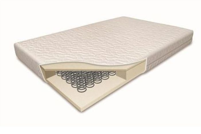 Cheap 5 Inch Cotbed Sprung Mattress-(140cm X 70cm) - Only £46.95!