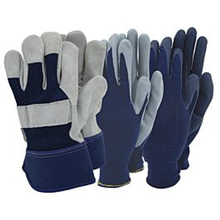Cheap Town & Country Mens Gloves - Triple Pack - Only £6.99!