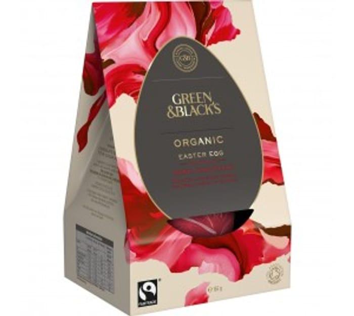 Cheap G&B's Organic Dark Chocolate Egg 165g - Only £4.59!