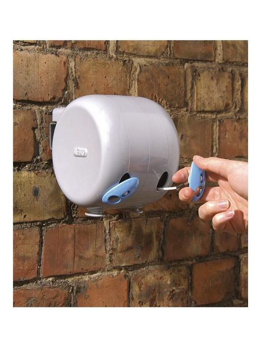 *SAVE £3* Minky Outdoor Retractable Reel Washing Line 30m