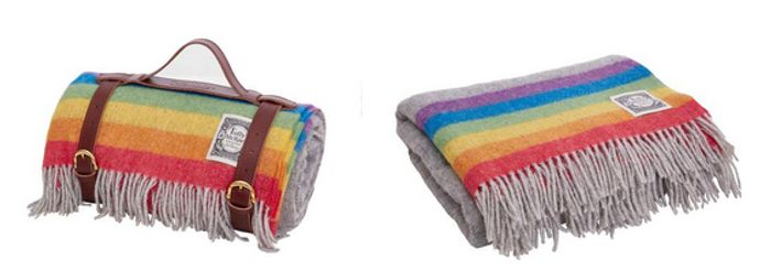 Buy a Rainbow Throw or Picnic Rug to Get 10% off + Donate 10% to a Good Cause