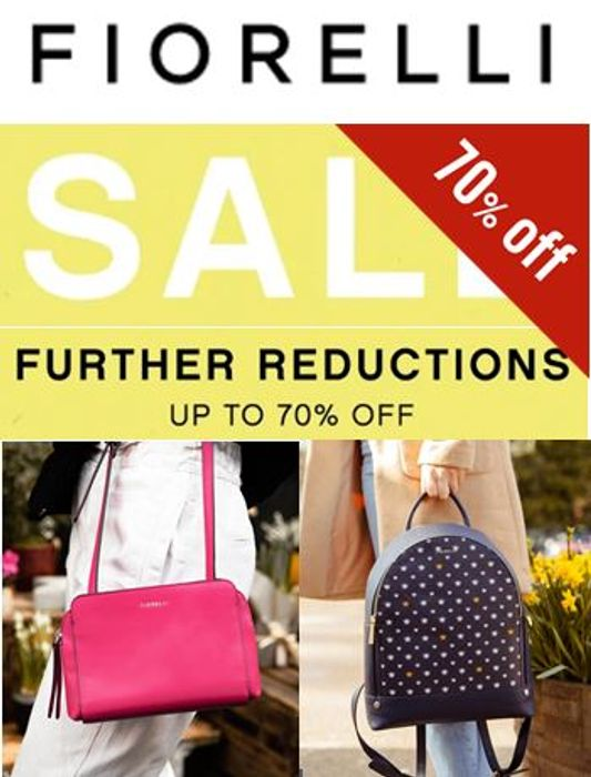 Special Offer - Fiorelli SALE, Further Reductions - NOW up to 70% OFF