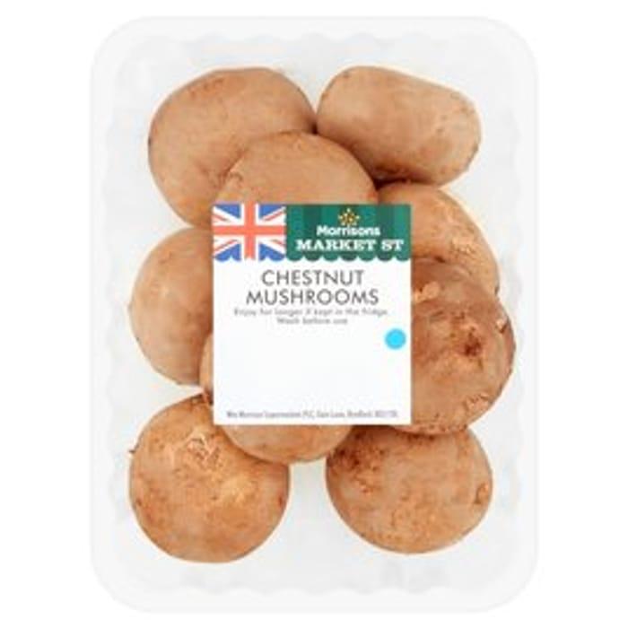 Morrisons Chestnut Mushrooms 250g