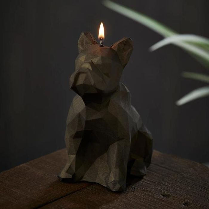 Black Geometric Dog Candle on Sale From £19.99 to £8
