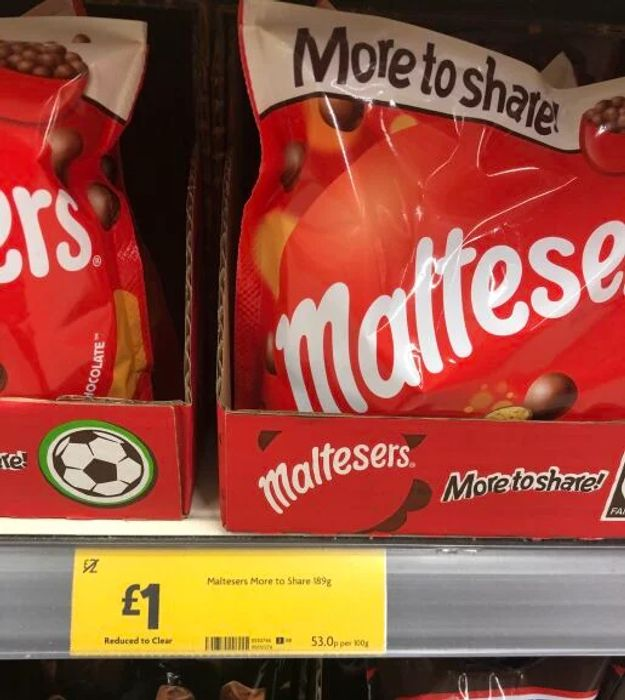 Maltesers Chocolate Large Pouch 189G