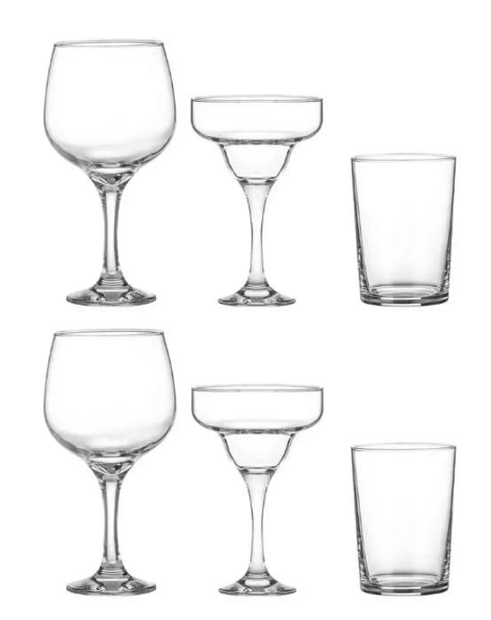 Cheap 6 Piece Cocktail Glasses Set - £12.50 Delivered
