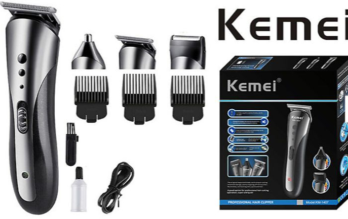 EXTRA 10% off 3-in-1 Waterproof Electric Cordless Hair Clipper