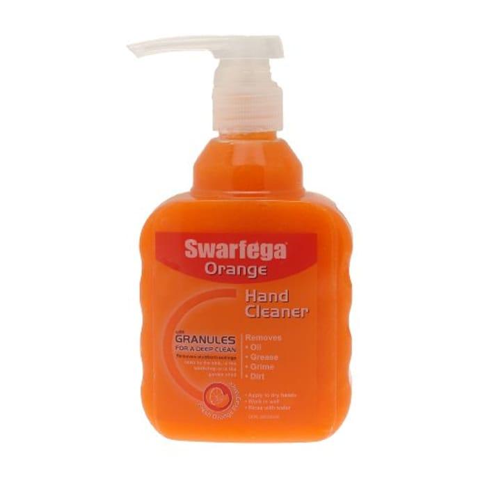 DEB Swarfega Orange Hand Cleaner Pump, 450 Ml - Orange