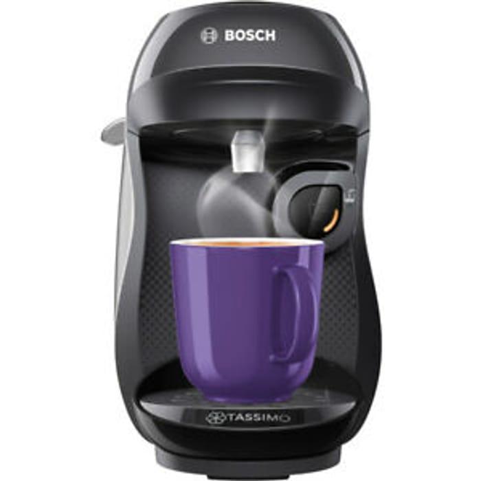 Tassimo by Bosch TAS1002GB Happy Pod Coffee Machine Only £30