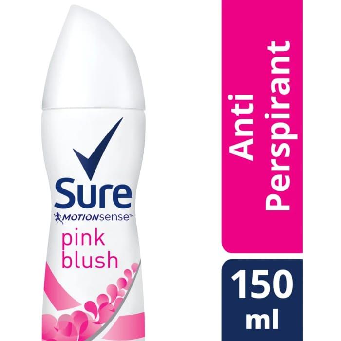 Sure for Women Pink Blush Anti-Perspirant Deodorant 150ml