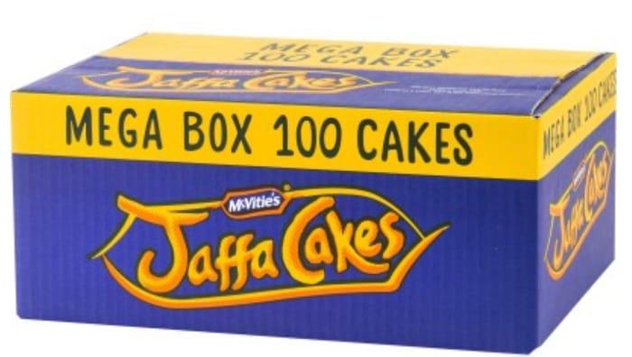 McVities Jaffa Cakes 100 Pack