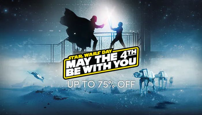 'Star Wars Day' SALE! up to 75% Off!!!