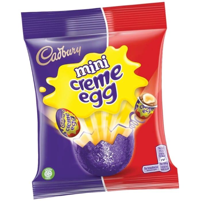 Mini Creme Egg 22 X 89g Bags