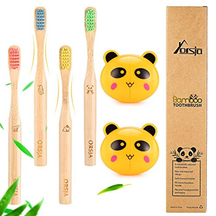 Bamboo Toothbrushes - Toothbrushes, Soft Bristle Toothbrush