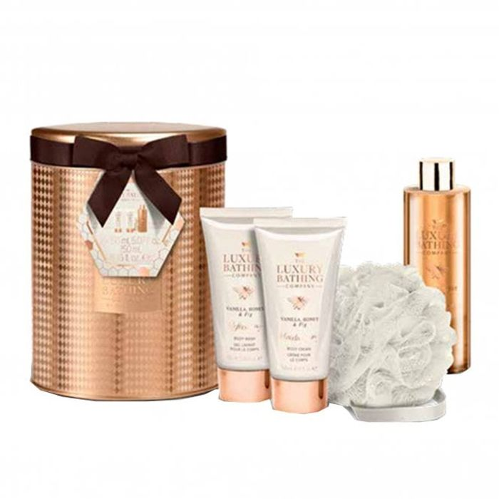 Grace and Cole Honey & Fig 5 pieces Gift Set