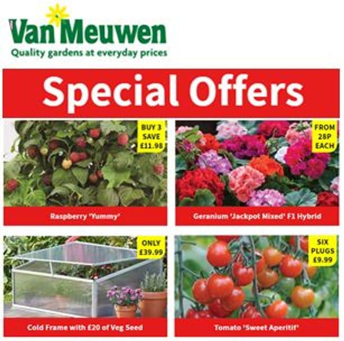 Love Gardening? Special Offers & Best Sellers at Van Meuwen