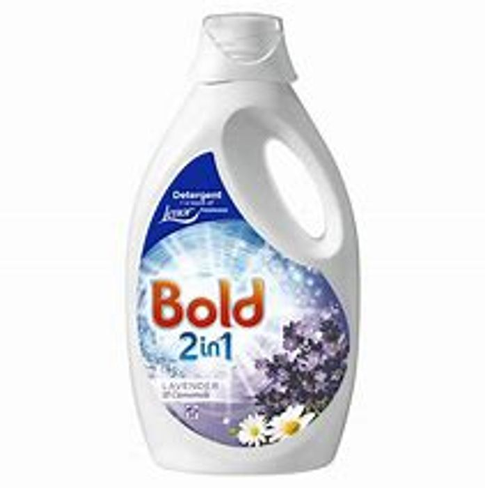 Bold 2in1 Washing Liquid Lavender & Camomile 38 Washes
