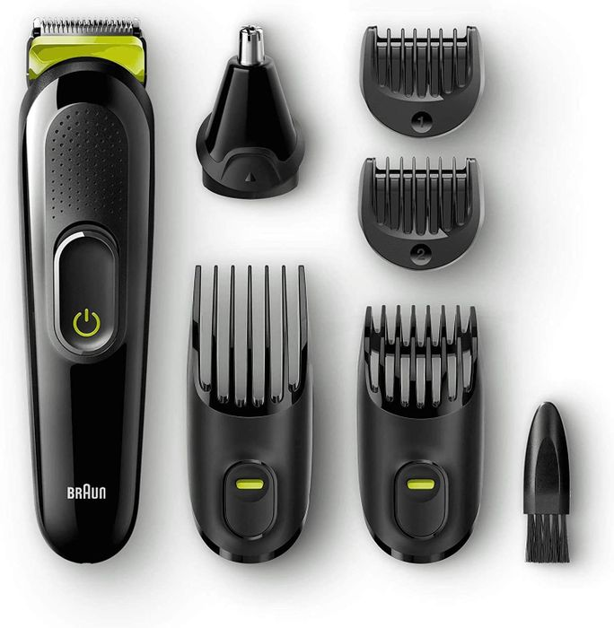 Free Beard Trimmer and Grooming Kit from Braun