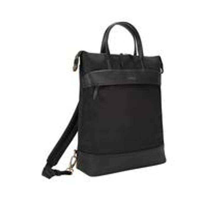 Targus Newport 15 Inch Laptop Convertible Tote Backpack - Black