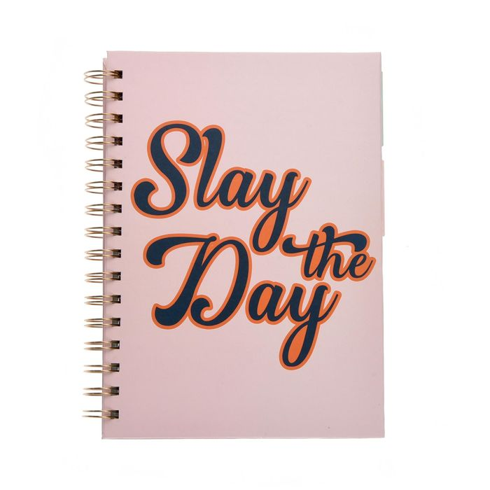 Slay the Day Planner A5 Notebook