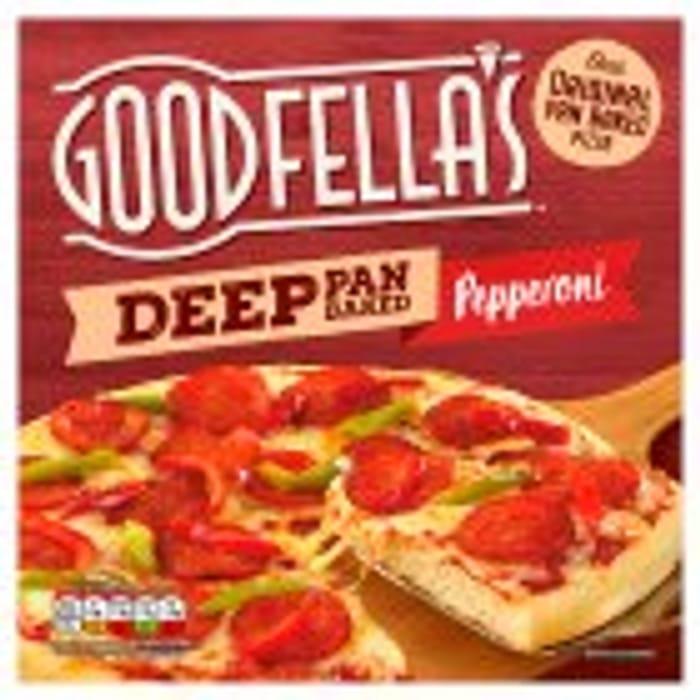Goodfella's Deep Pan Loaded Cheese or Pepperoni Pizza - Half Price