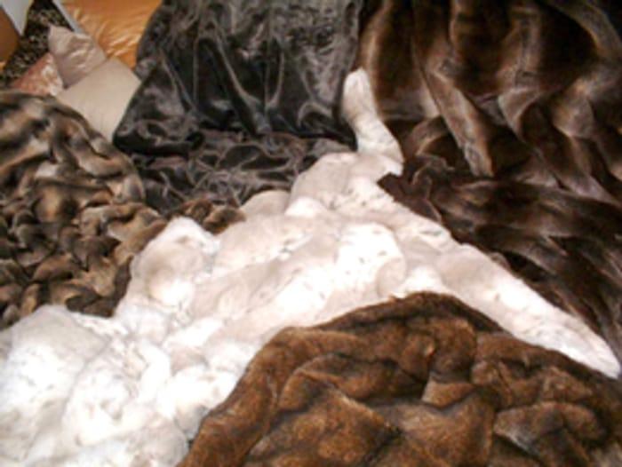 Free Faux Fur Fabric Samples.