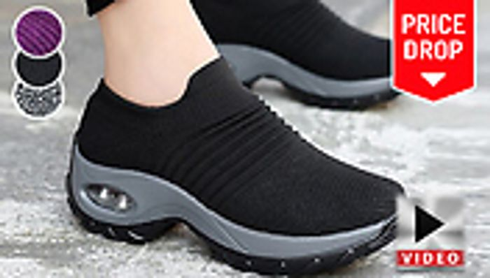 *SAVE £65* Breathable AirCushion Trainers - 3 Colours Sizes 3 > 9