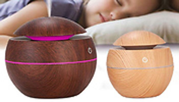 *SAVE £22* USB Electric Colour Changing Aroma Humidifier - 2 Colours