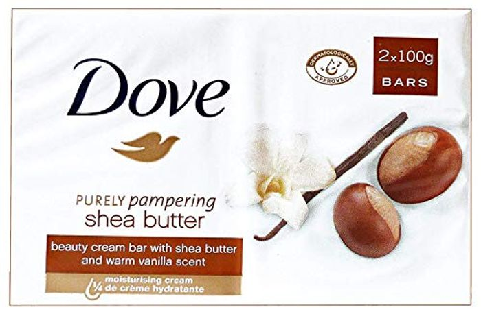 Dove Purely Pampering Shea Butter Beauty Bar, 2 X 100 G