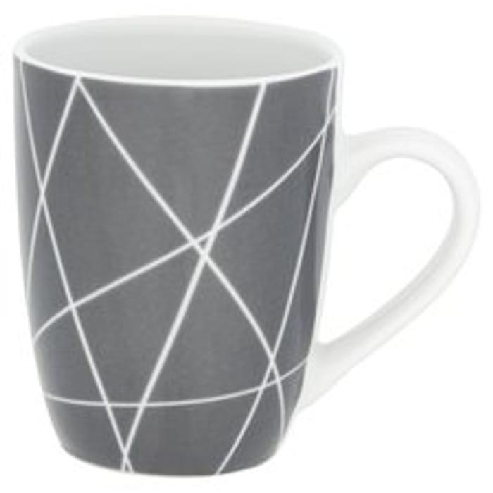 Tesco Copenhagen Porcelain Mug *Microwave And Dishwasher Safe HALF PRICE!