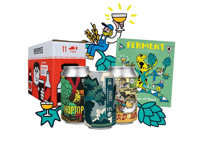 FREE Case off 10 Beers, Magazine, Snack + 2 FREE Beers Just Pay Postage