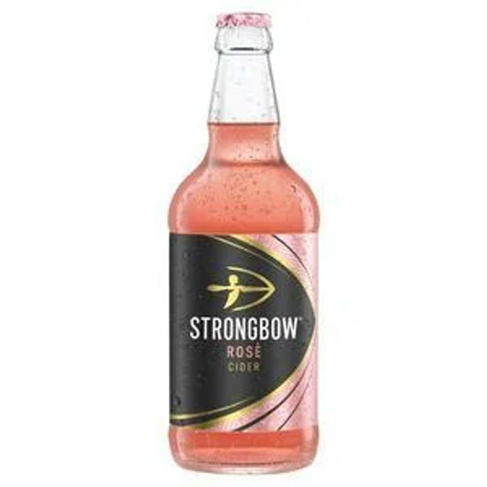 Strongbow Rose Cider 500ml Only £1