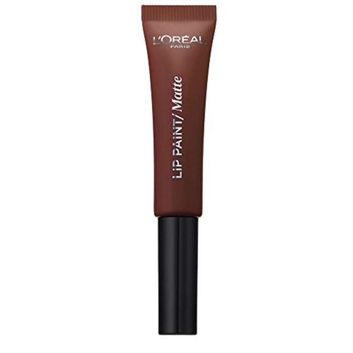 L'Oral Infallible Nudist Matte Lip Paint, Number 213, Stripped Brown
