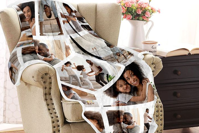Special offer! 1 or 2 Personalised Photo Blankets 3 Sizes!