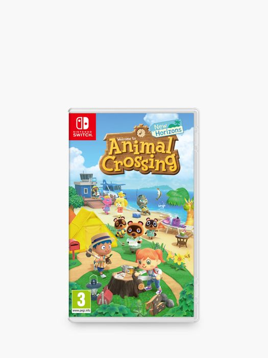 QUICK - Animal Crossing New Horizons in Stock at John Lewis