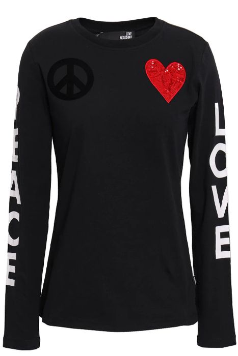 Love Moschino Womans Long Sleeve Top