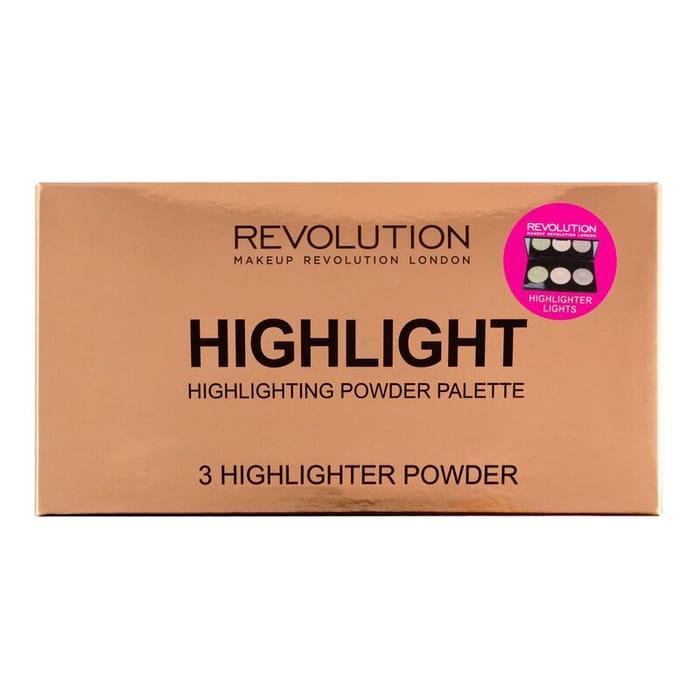 Revolution Highlighter Palette, Only £4.00!