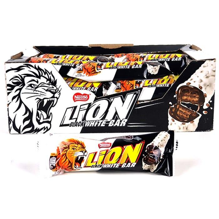 40 X Nestle Lion Black White Limited Edition 40g Bars