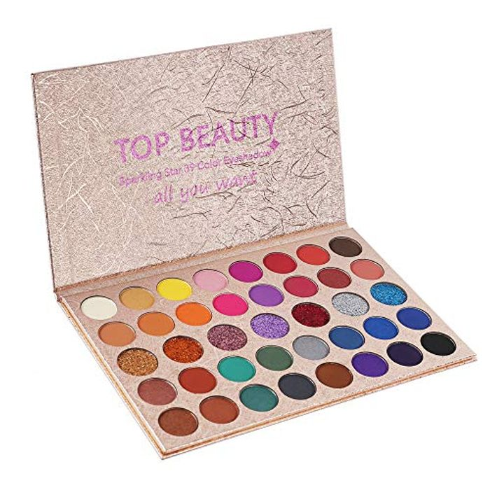 Eyeshadow Palette Makeup Matte Shimmer Metallic 39 Colors Highly Pigmented