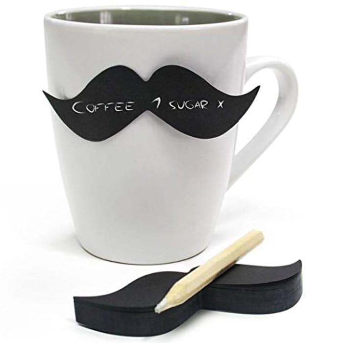 Moustache Sticky Notes
