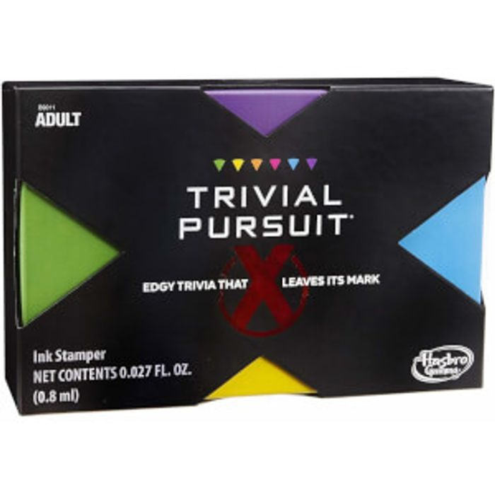 Hasbro Trivial Pursuit X Game - Adults Only - Free Delivery